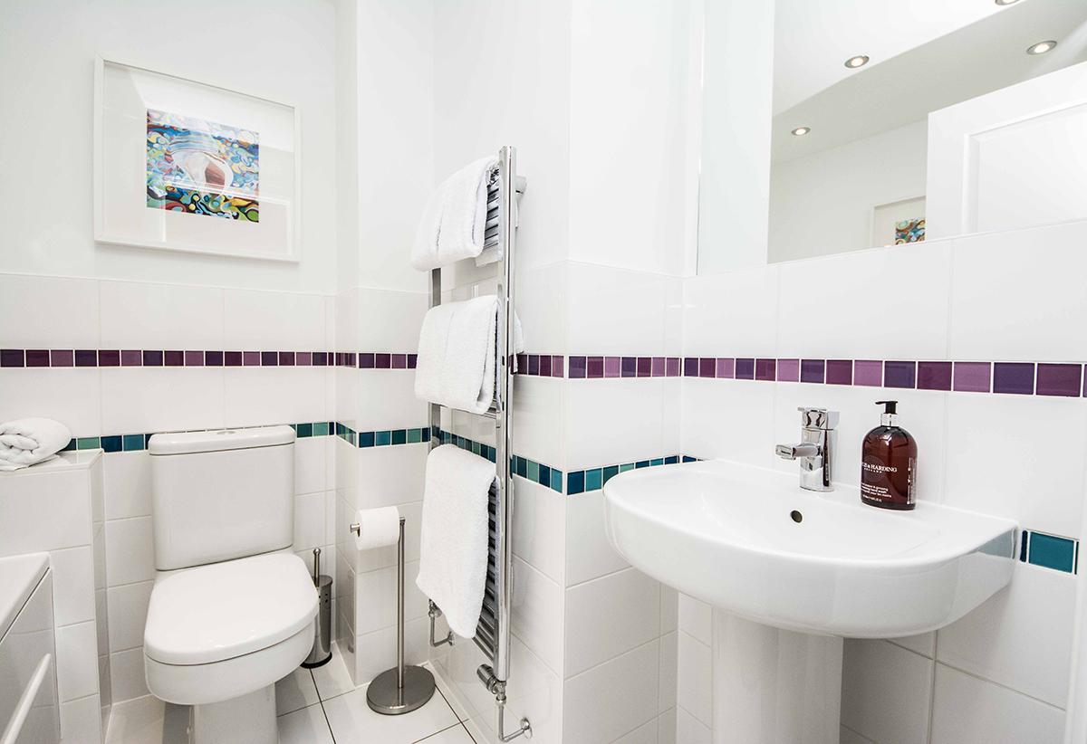 Bathroom at Cardinal Place