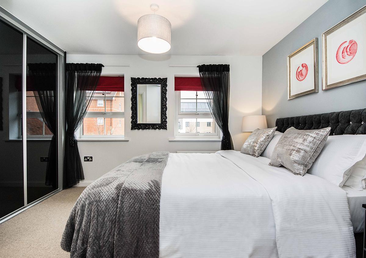 Bedroom at Cardinal Place