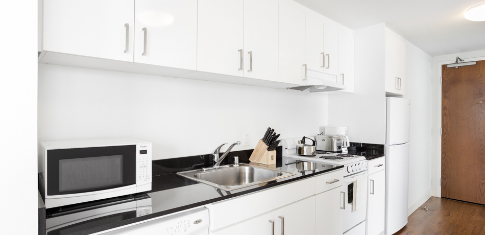 Kitchen at 1188 Mission Apartment