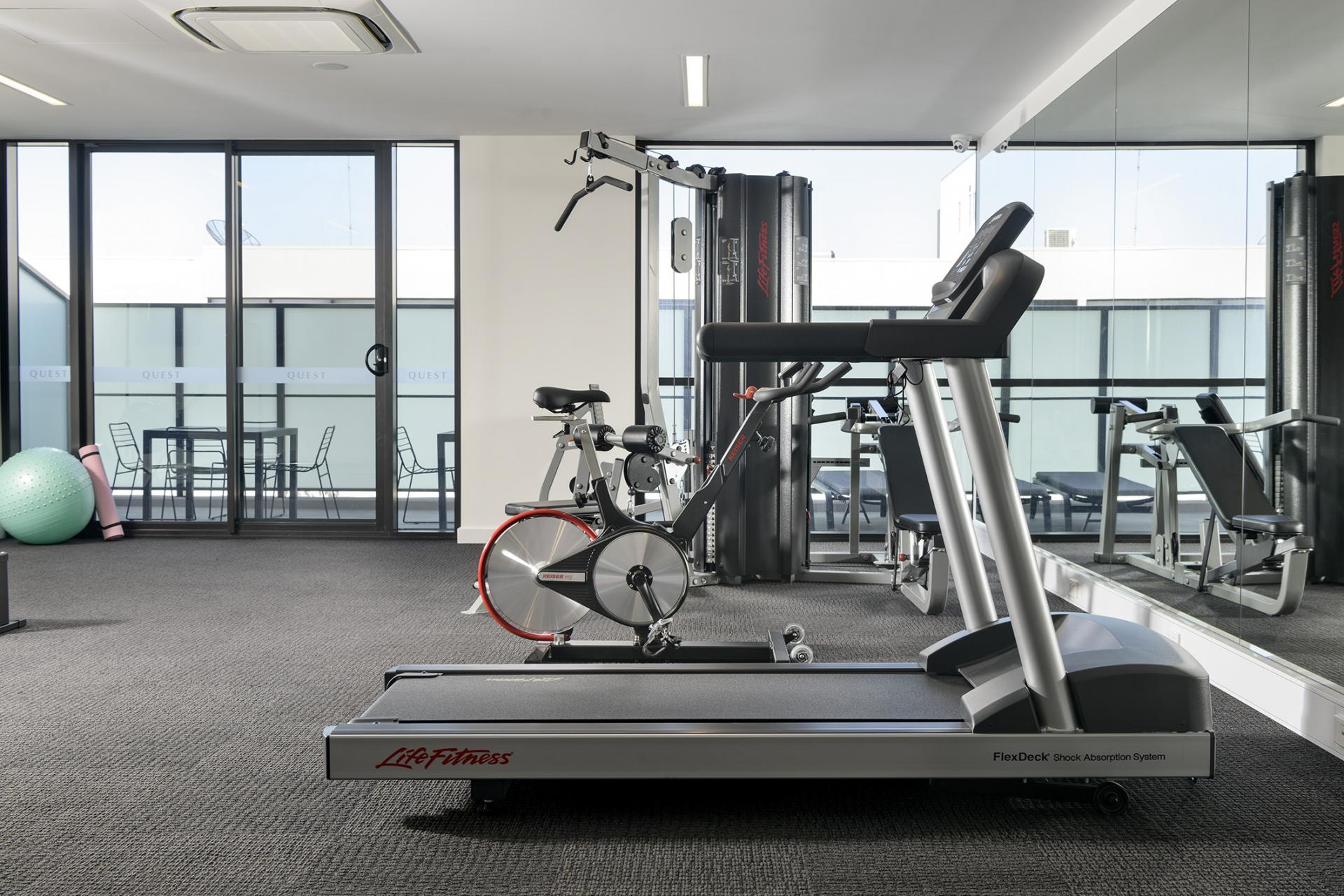 Gym at Quest South Perth Foreshore