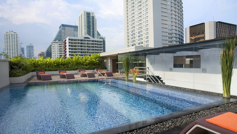 Pool in Citadines Sukhumvit 23 Apartments