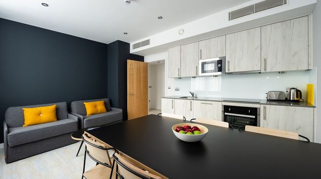 Living space at Staycity Aparthotels Paris Marne La Vallee, Centre, Bailly-Romainvilliers