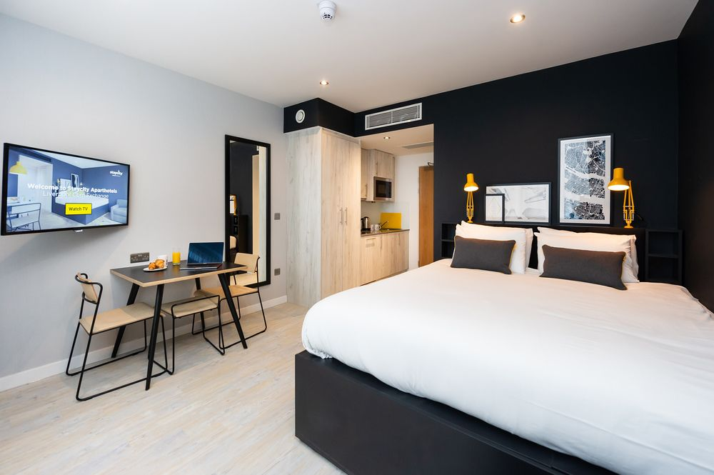 Accessible studio at Staycity Aparthotels Paris Marne La Vallee, Centre, Bailly-Romainvilliers