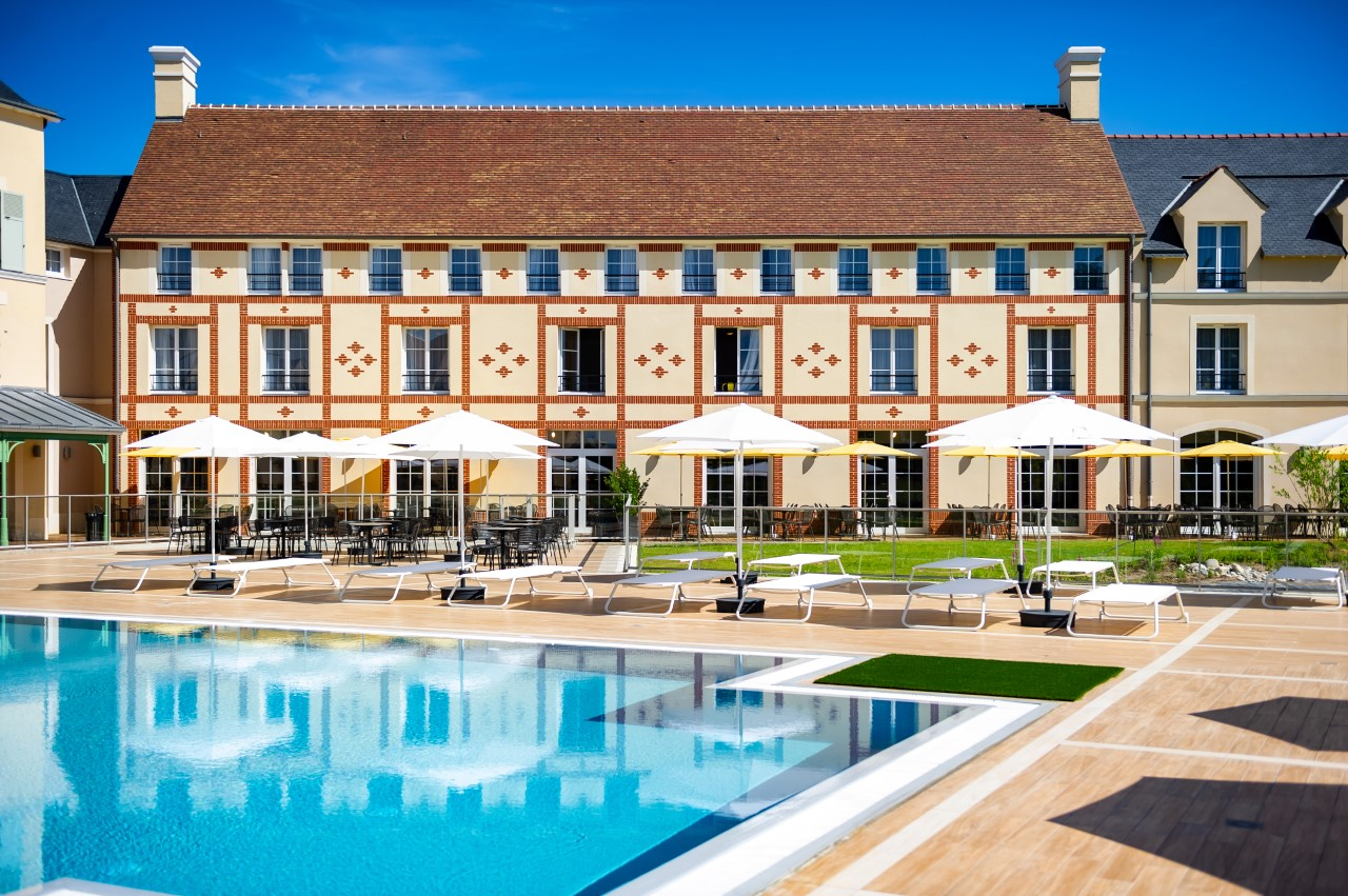 Swimming pool at Marne La Vallee Aparthotel, Centre, Bailly-Romainvilliers