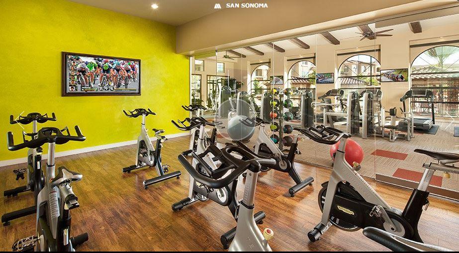 Gym at San Sonoma Apartment