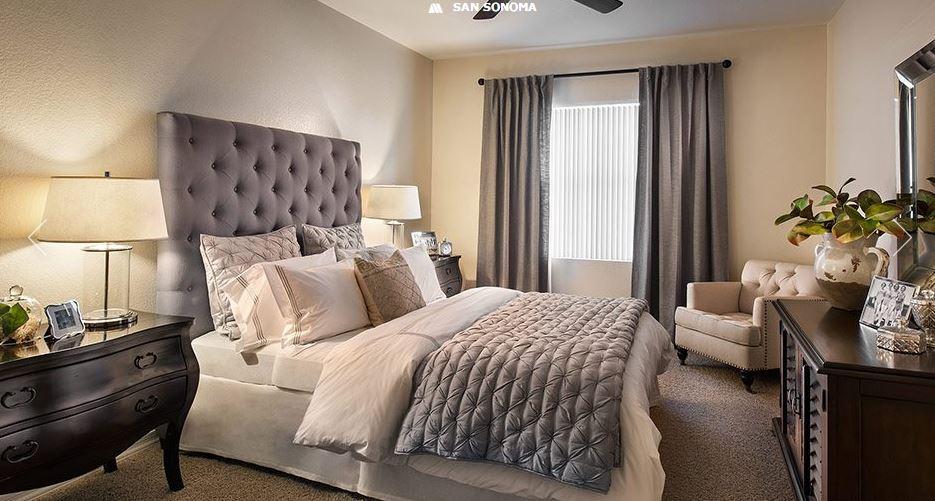 Bedroom at San Sonoma Apartment