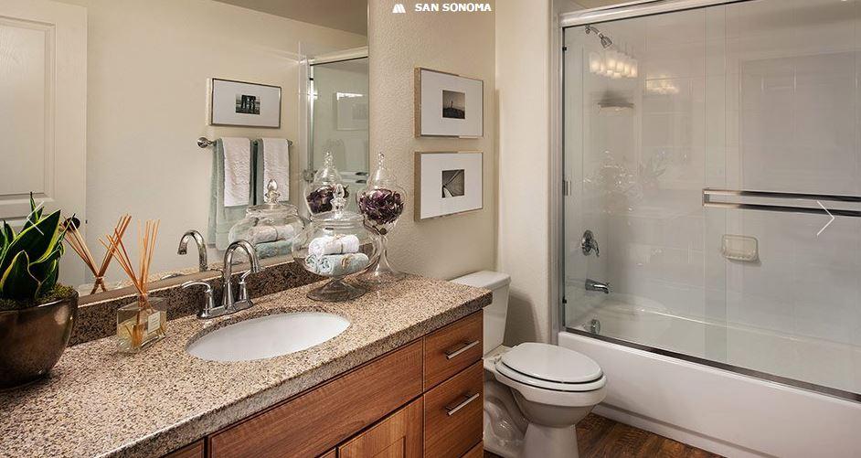 Bathroom at San Sonoma Apartment