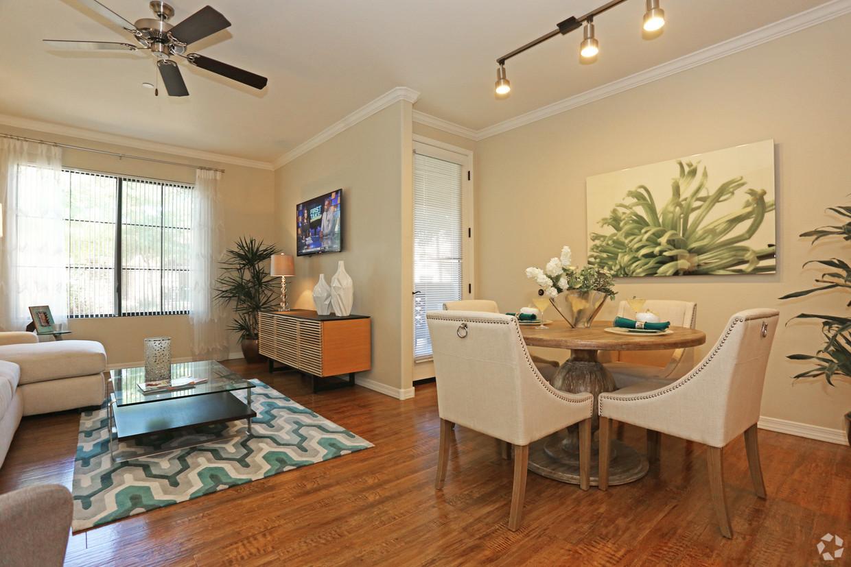 Living room at San Sonoma Apartment