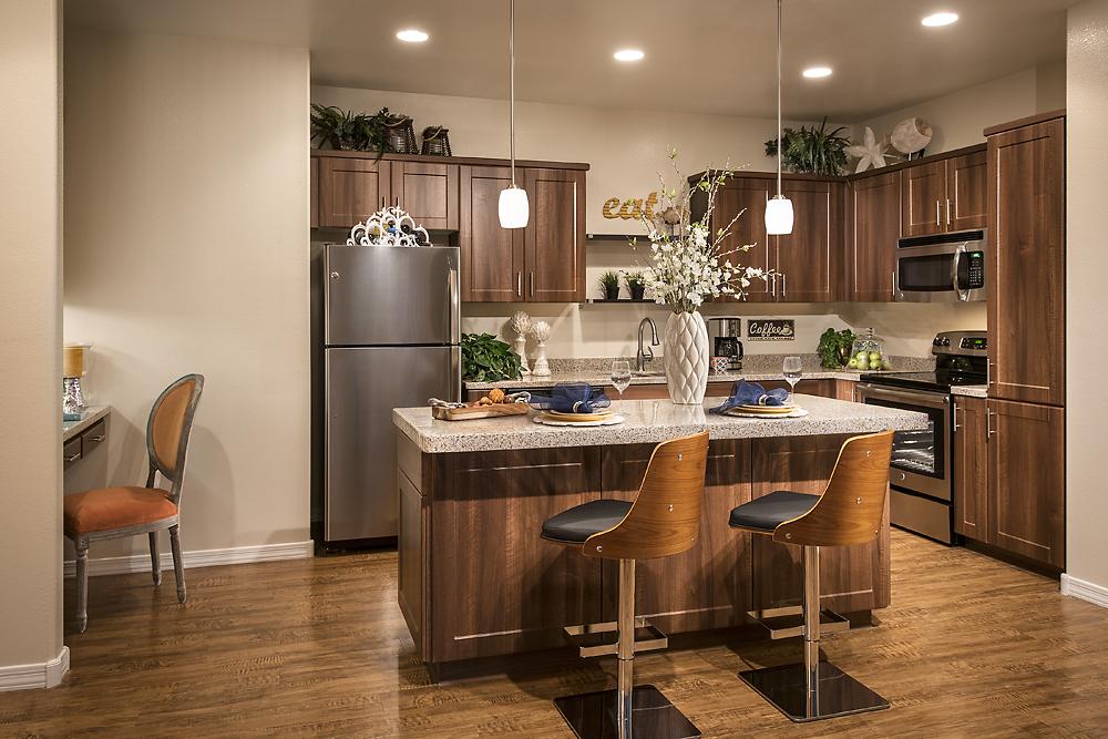 Kitchen at San Sonoma Apartment