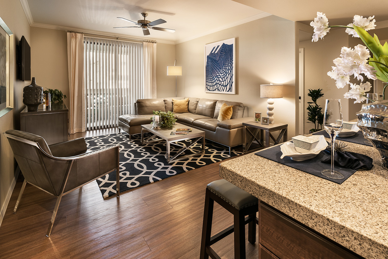 Lounge area at San Sonoma Apartment