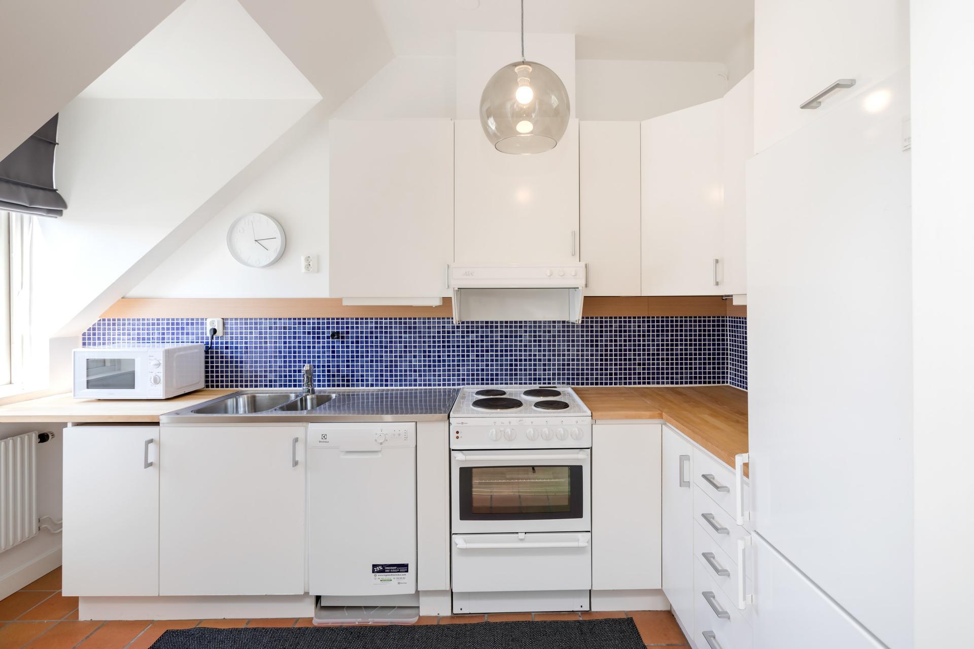 Kitchen at Nybergsgatan Apartments