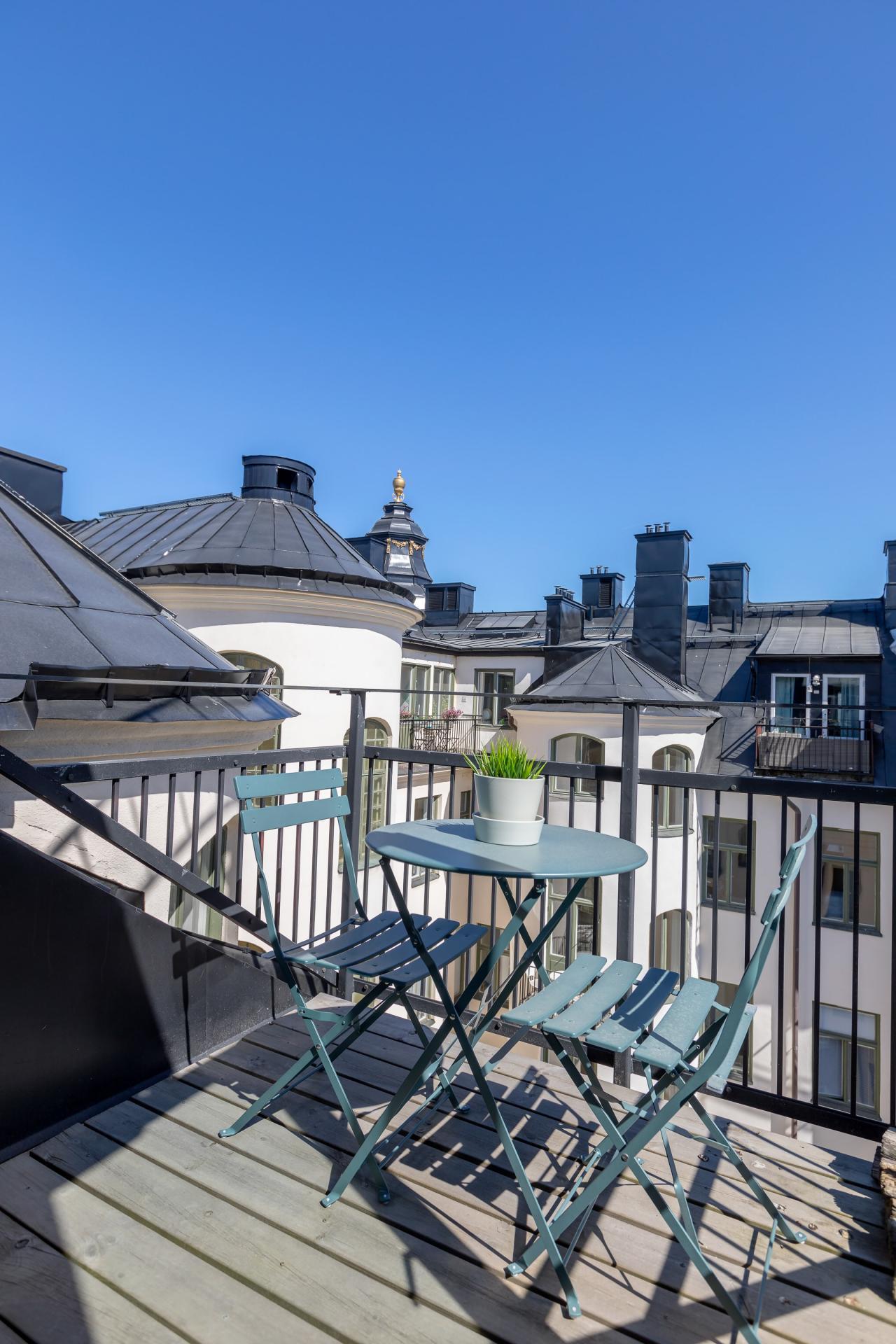 Balcony at Nybergsgatan Apartments