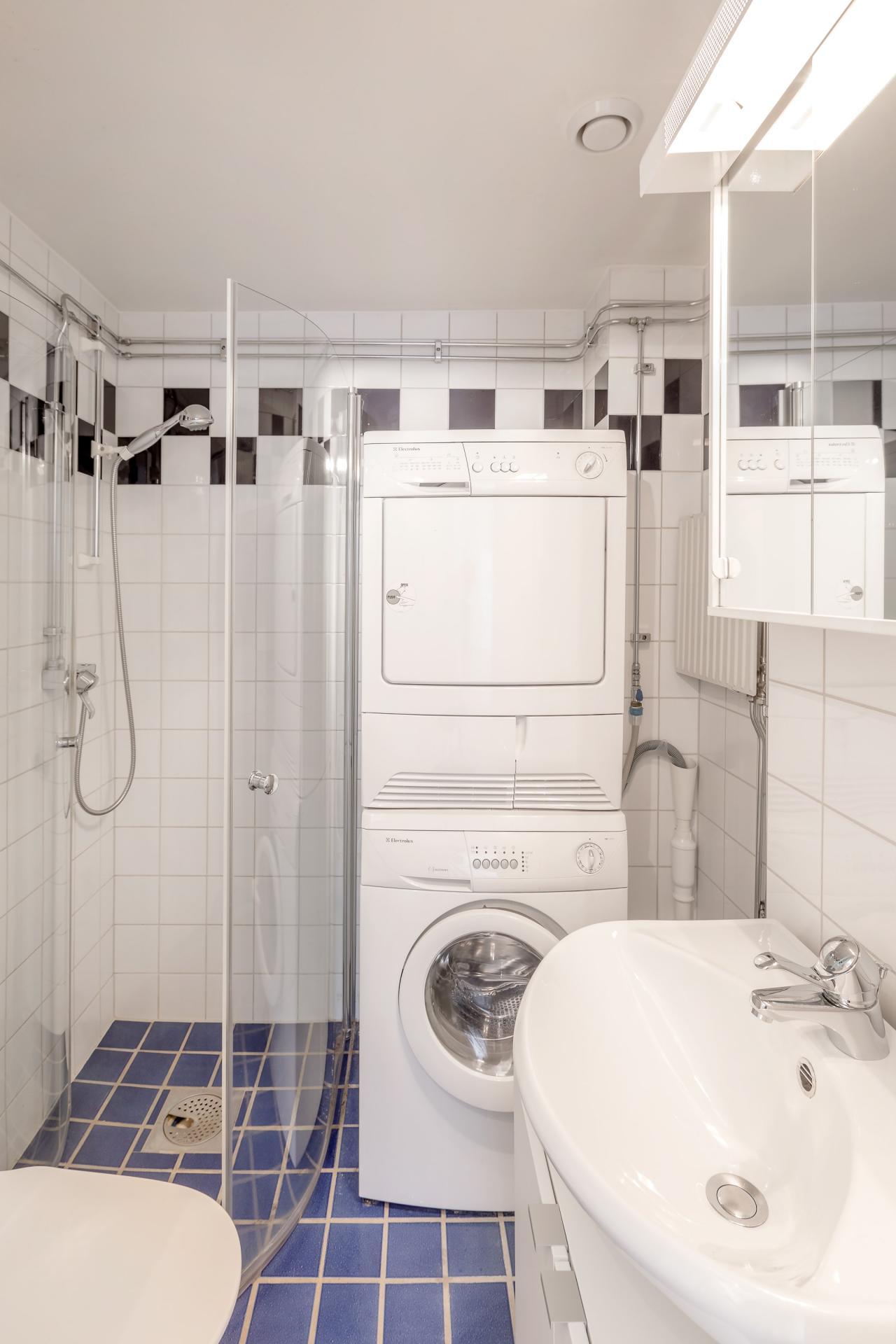 Bathroom at Nybergsgatan Apartments
