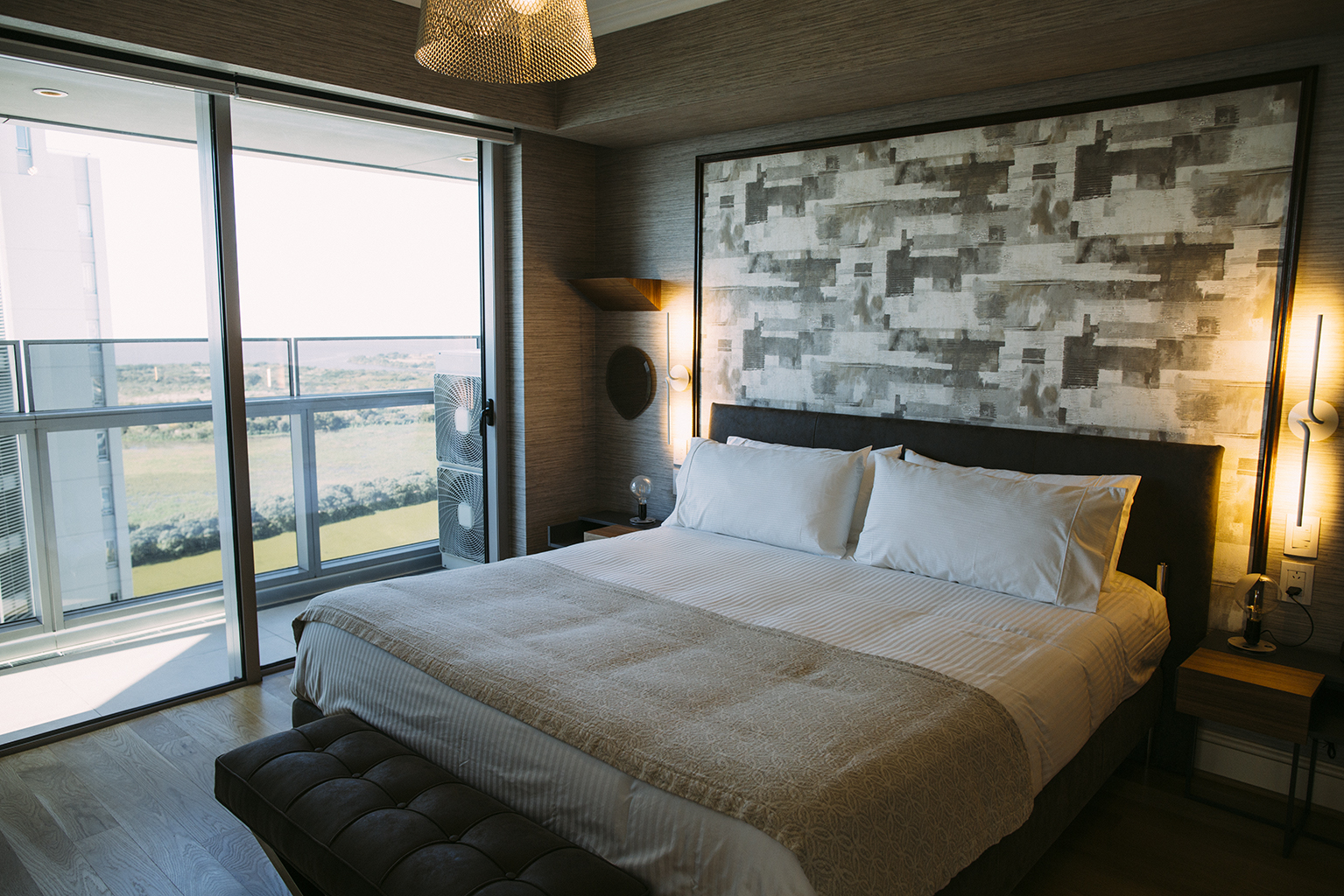 Large bedroom at Alvear Icon Apartments