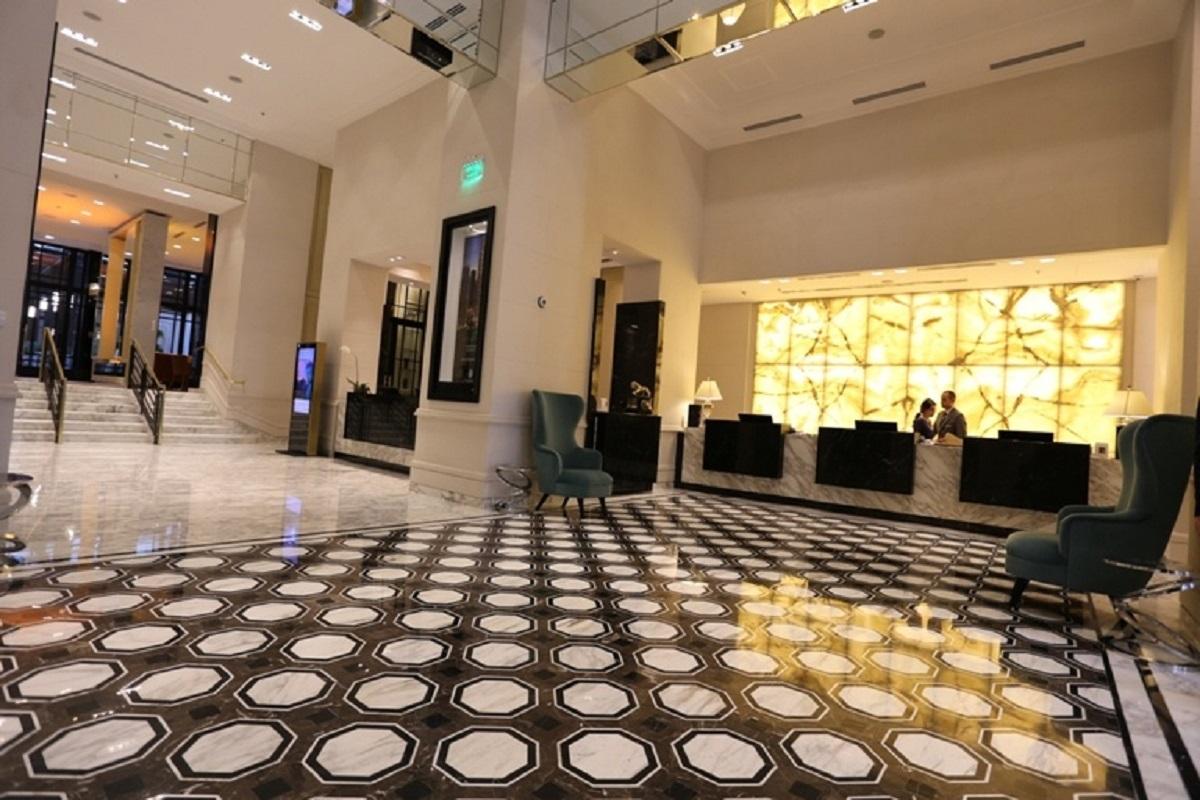 Lobby at Alvear Icon Apartments
