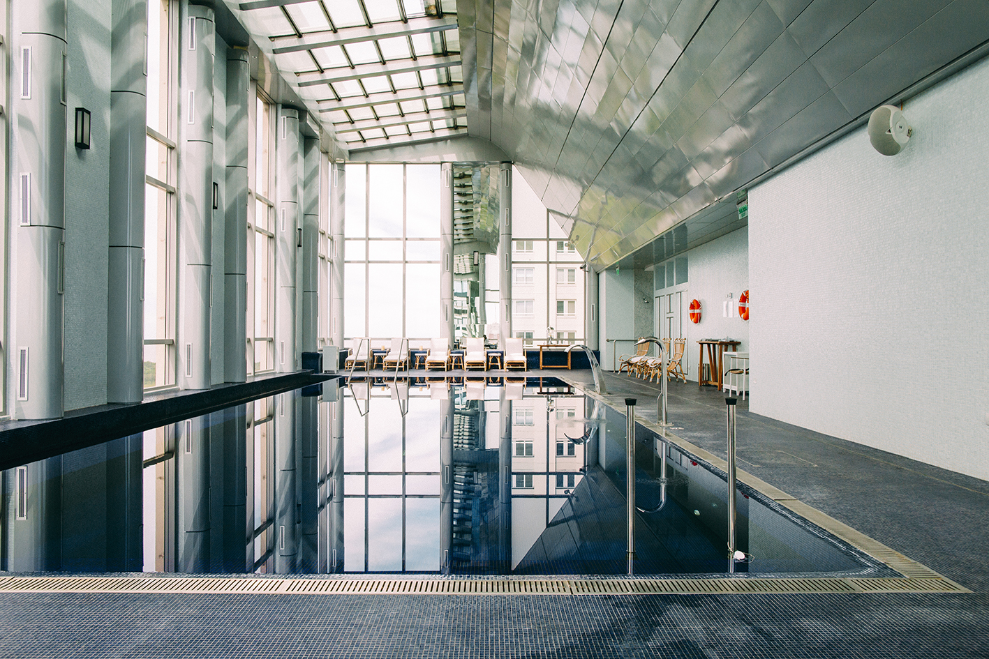 Indoor pool at Alvear Icon Apartments