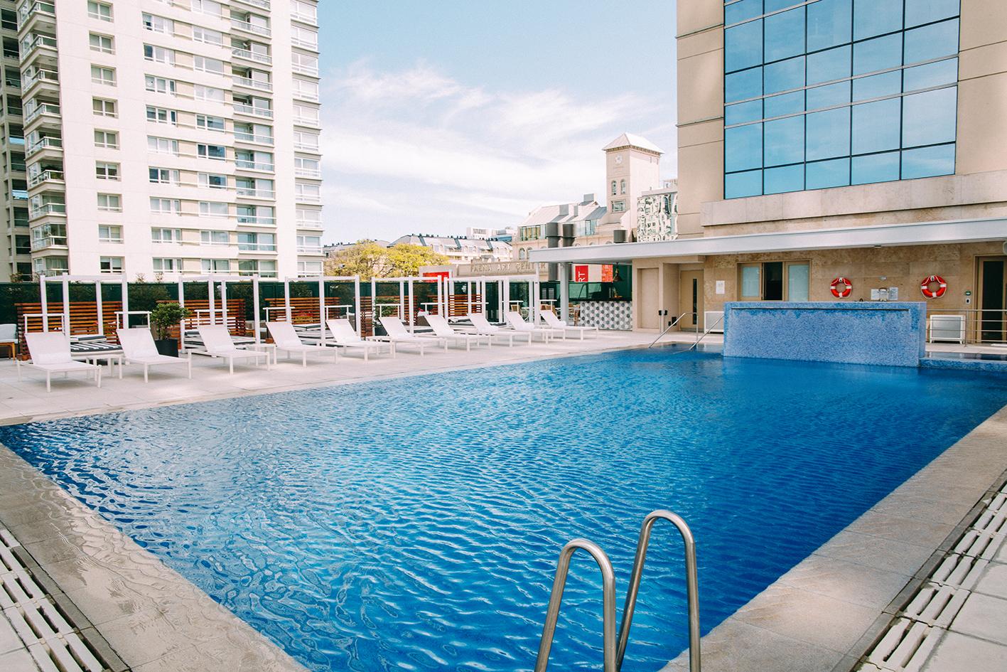 Pool at Alvear Icon Apartments