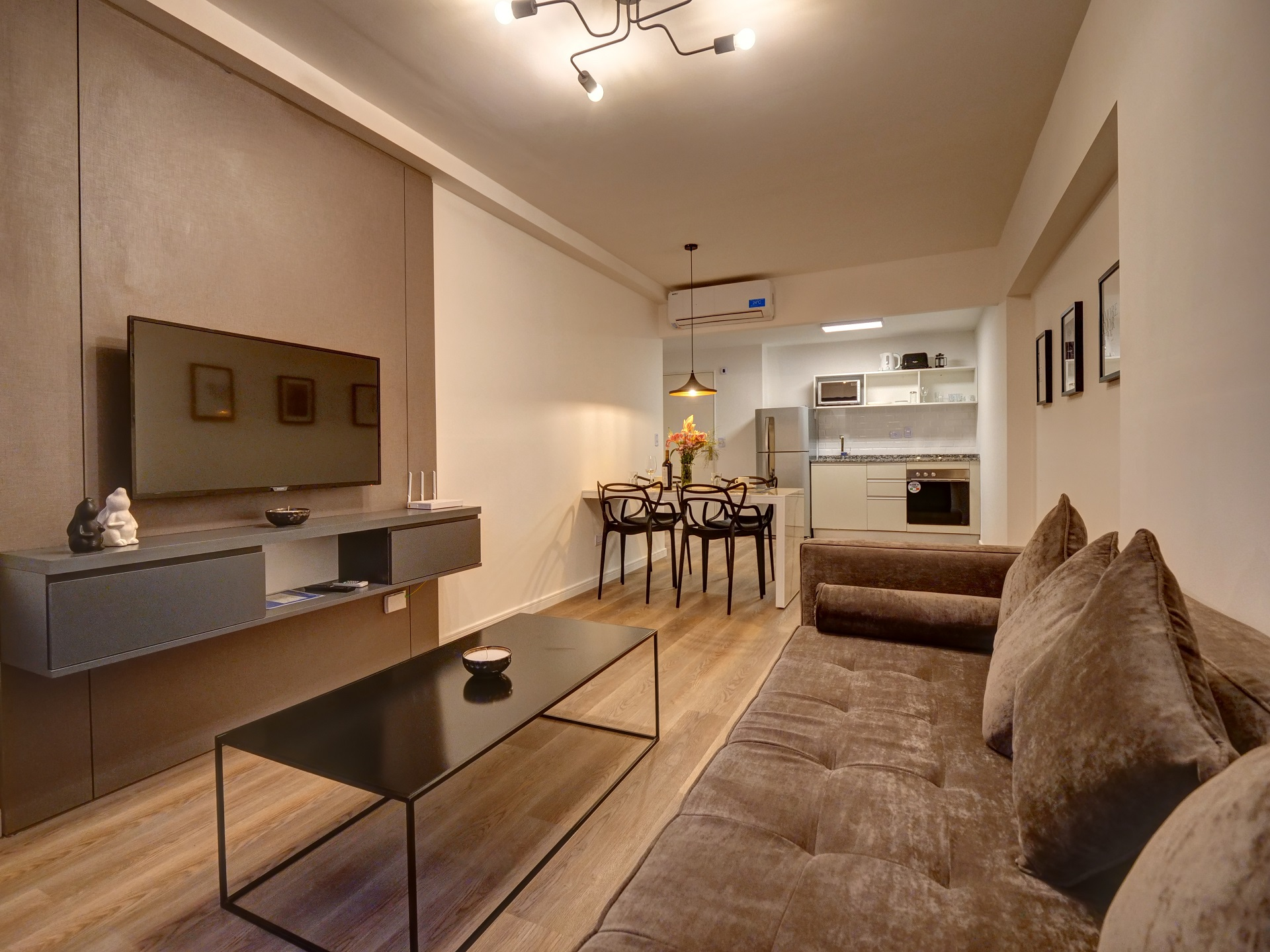 Living room at Bellini Esmeralda Apartments