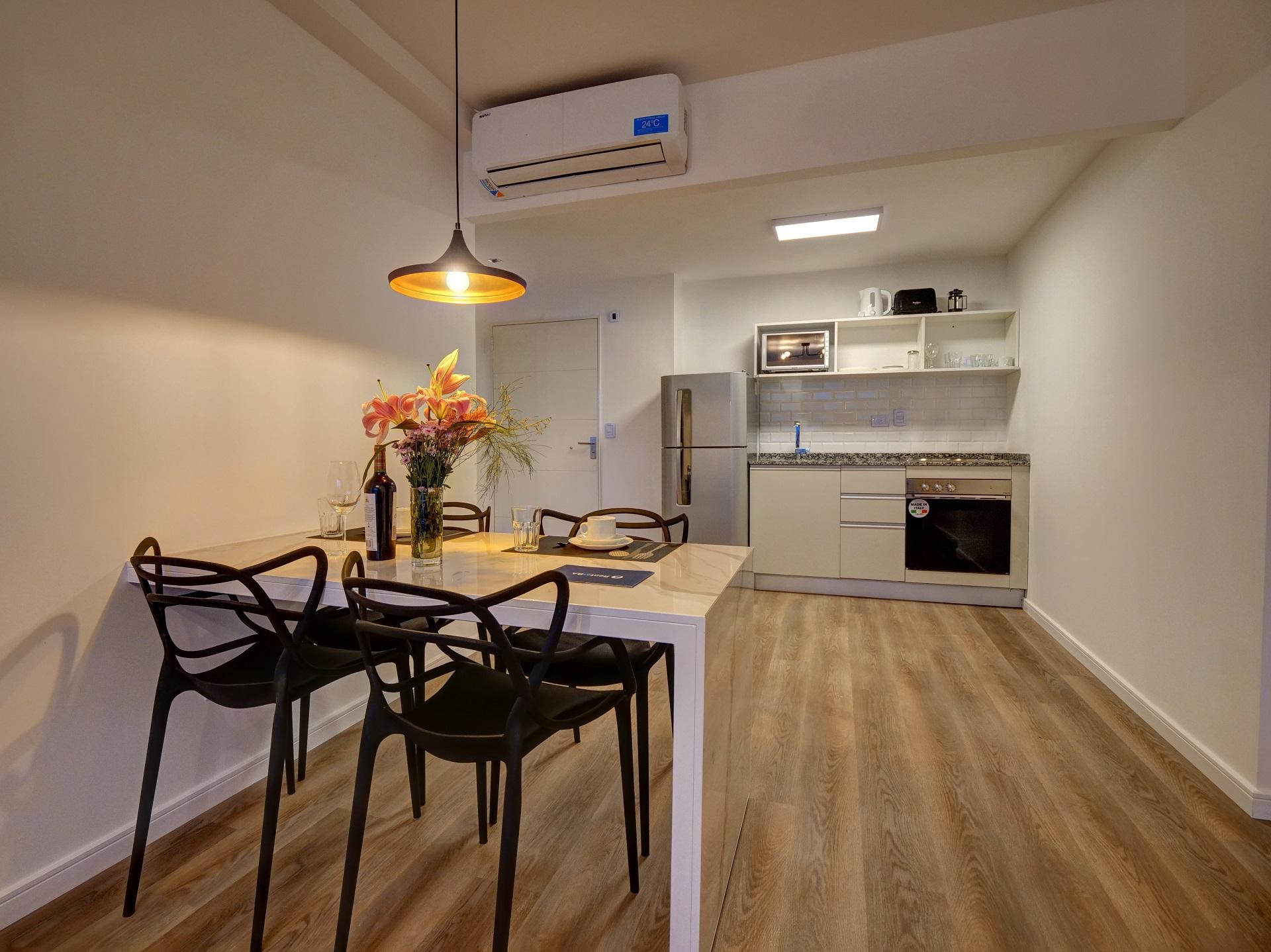 Kitchen at Bellini Esmeralda Apartments