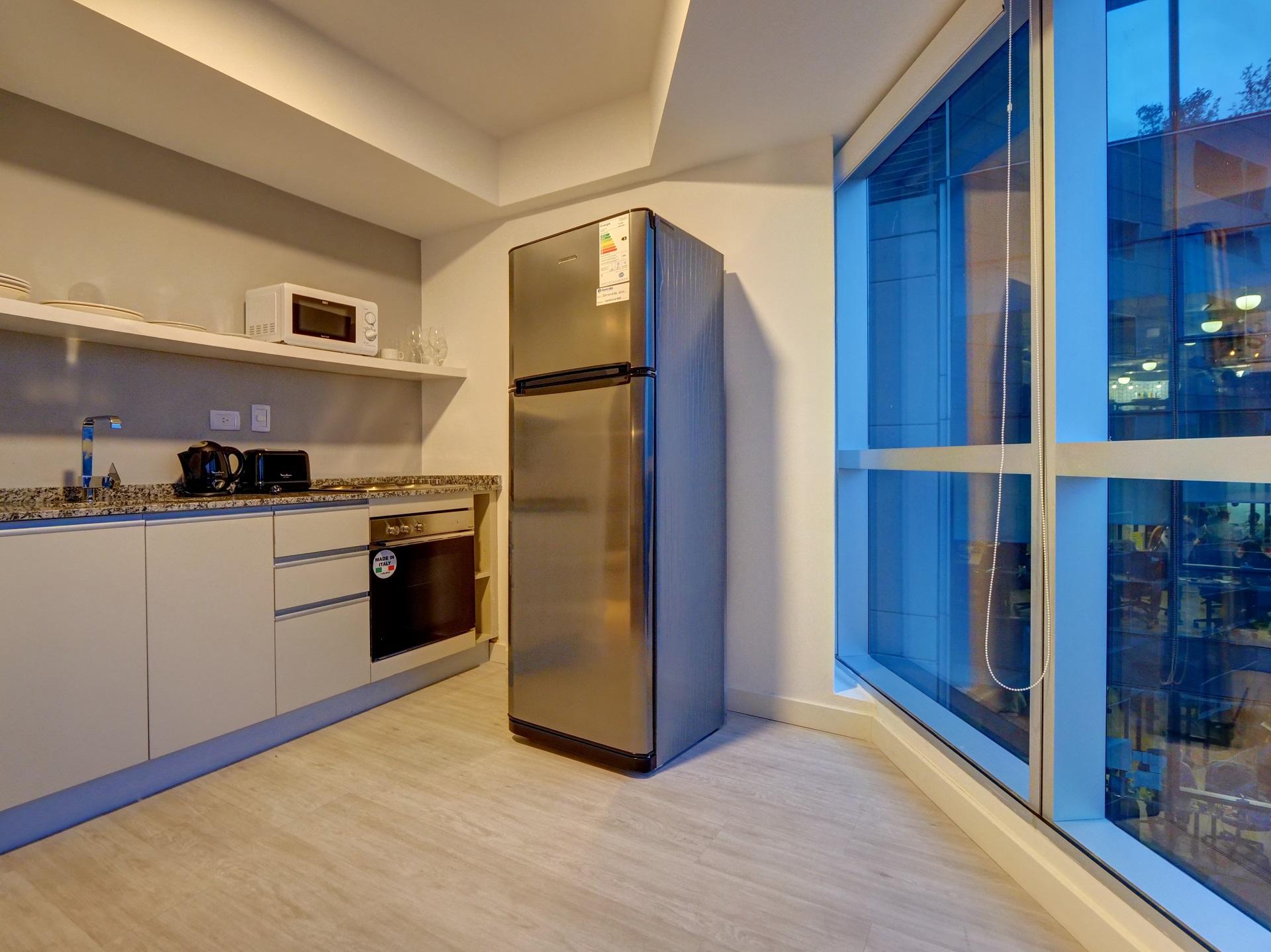 Fridge at Bellini Esmeralda Apartments