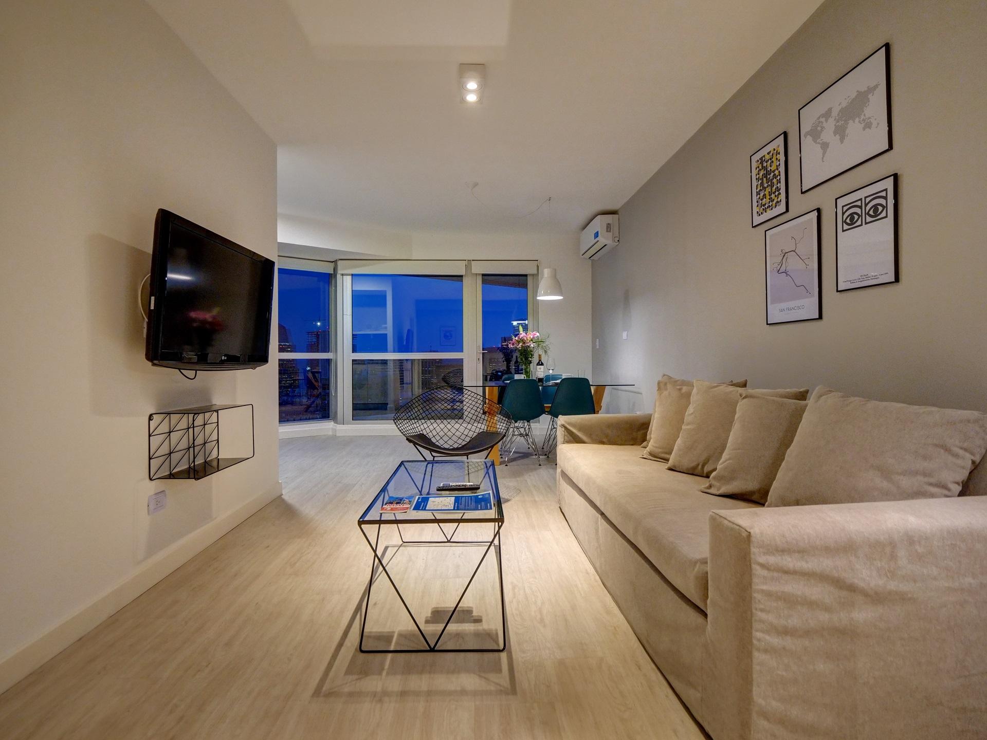 Open-plan at Bellini Esmeralda Apartments