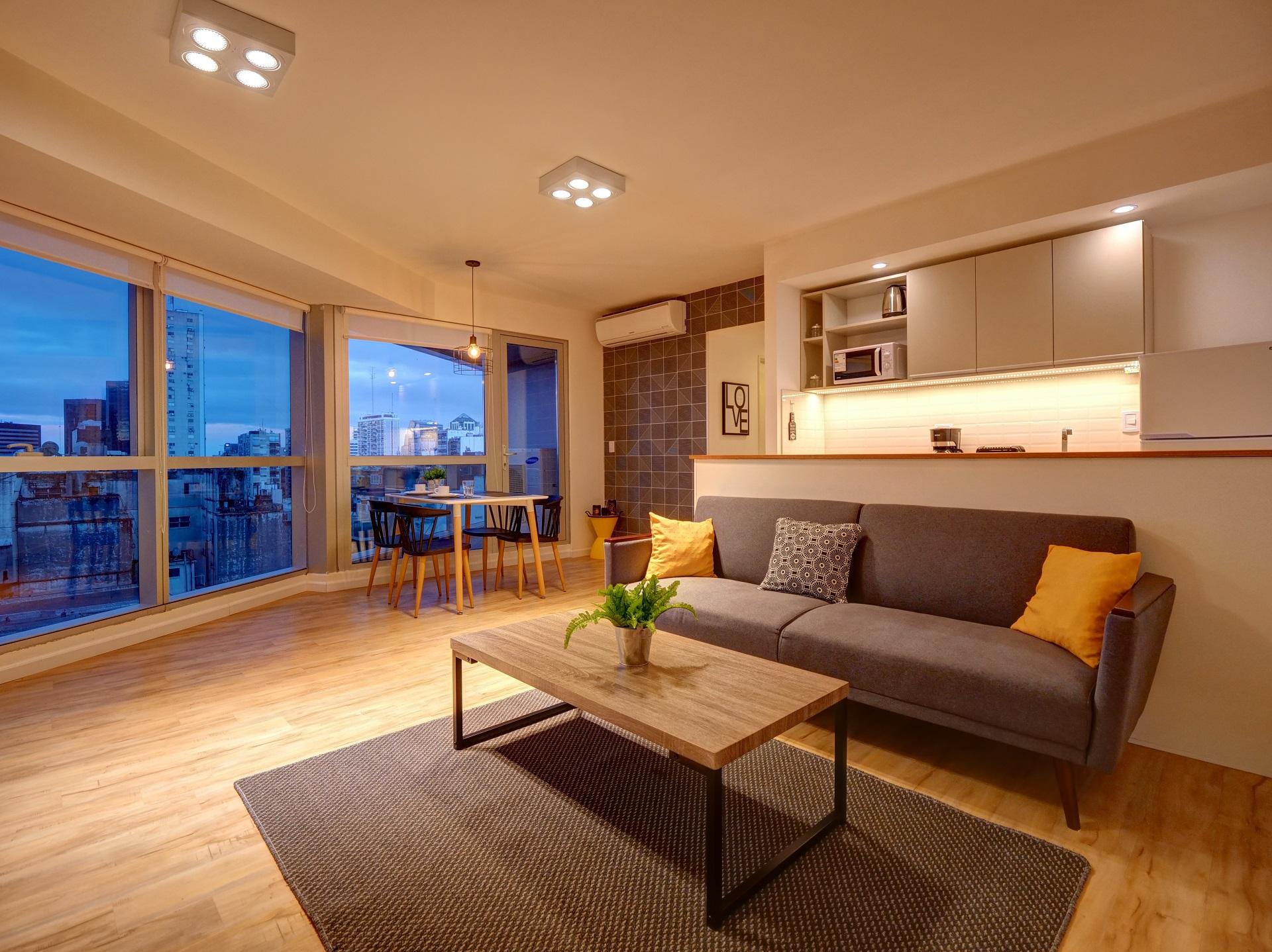 Sofa at Bellini Esmeralda Apartments