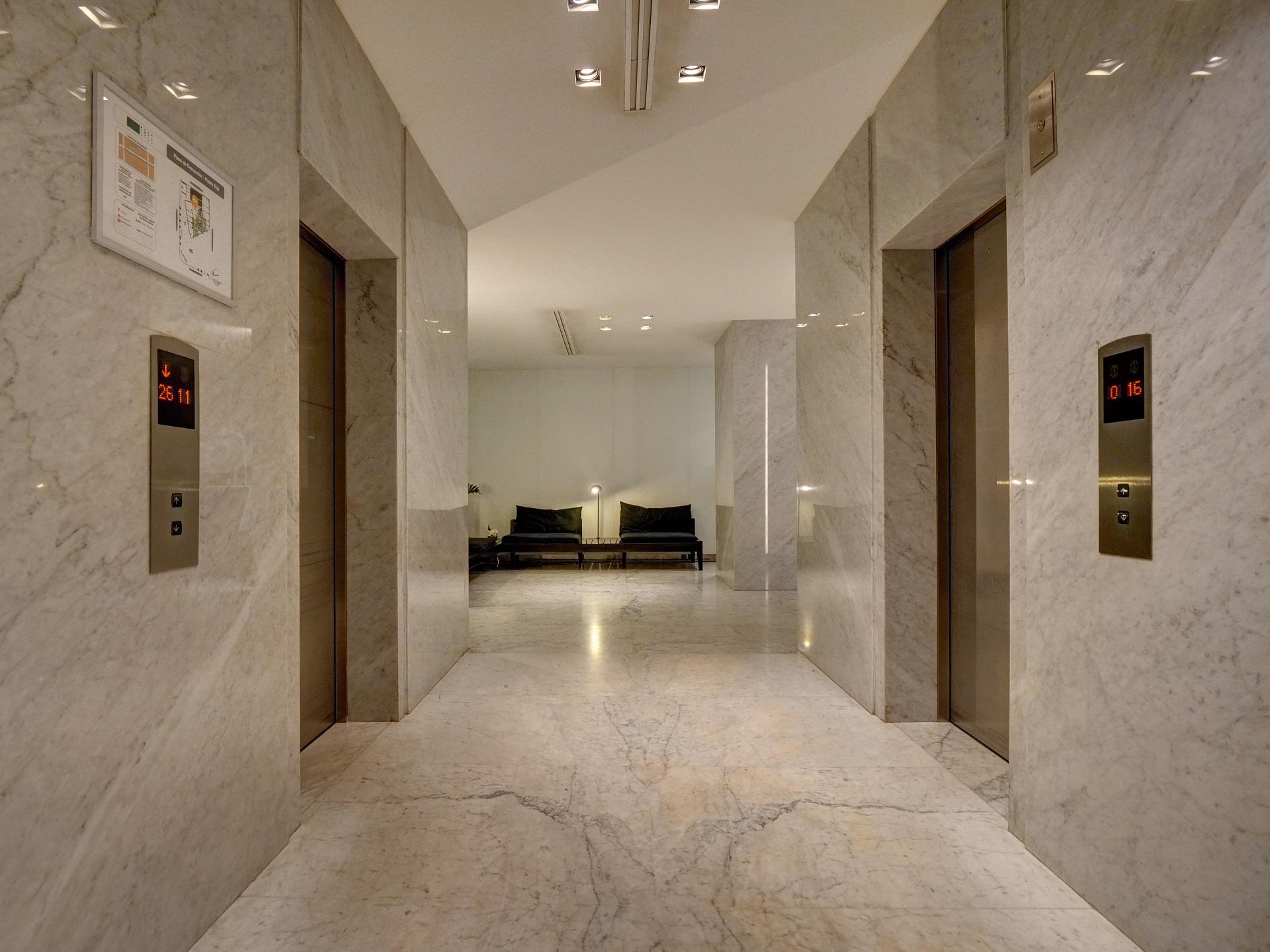 Lobby at Bellini Esmeralda Apartments