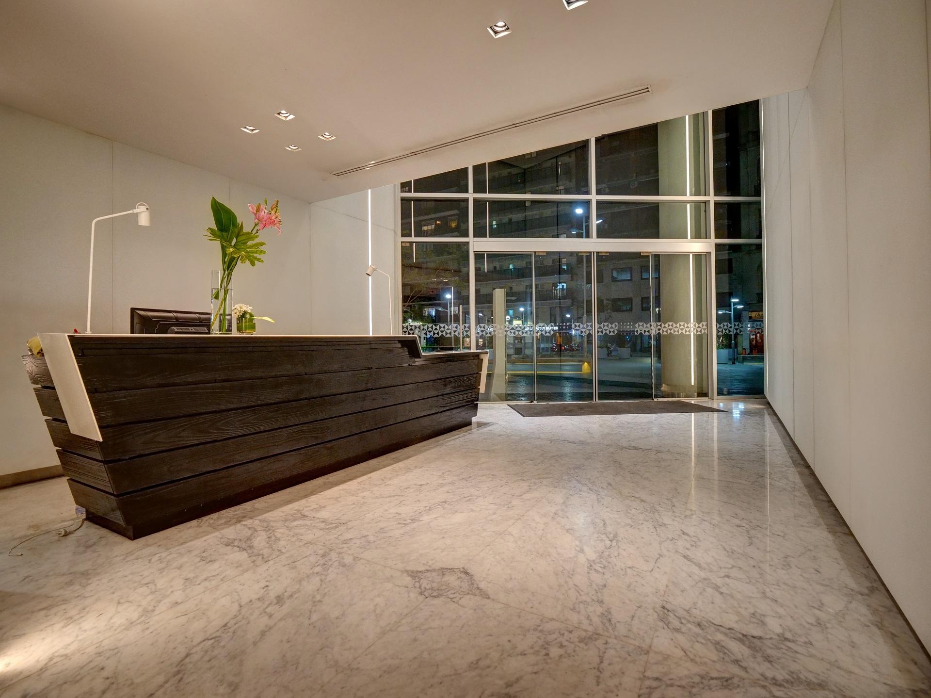 Reception at Bellini Esmeralda Apartments