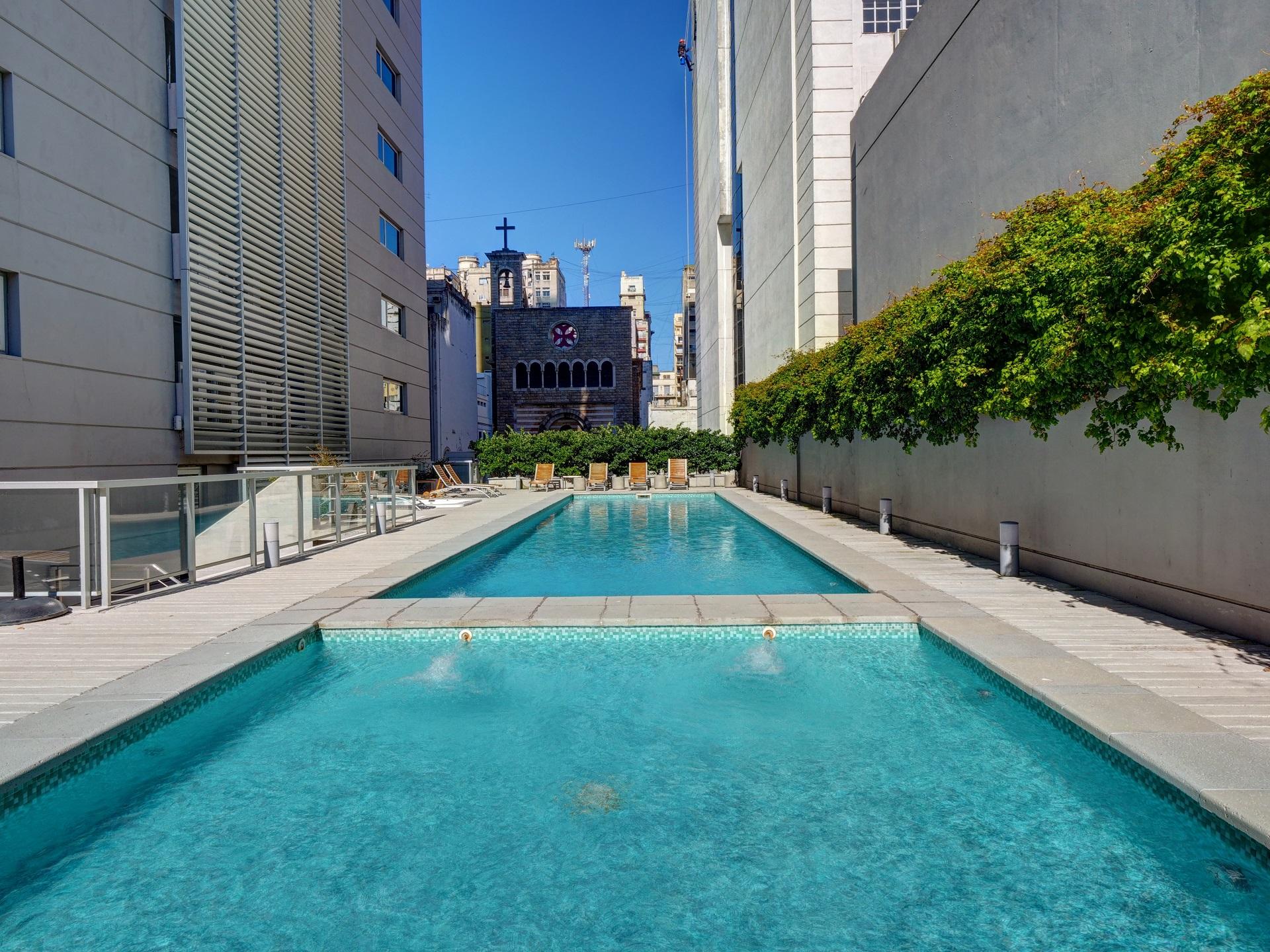 Pool at Bellini Esmeralda Apartments, Monserrat, Buenos Aires