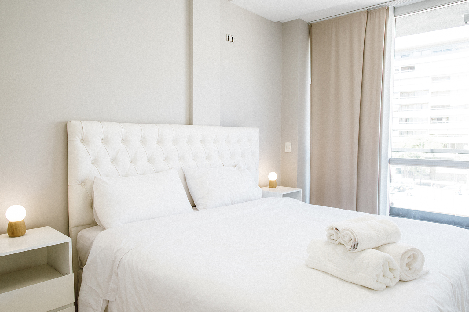 Bedroom at Lumiere Apartments
