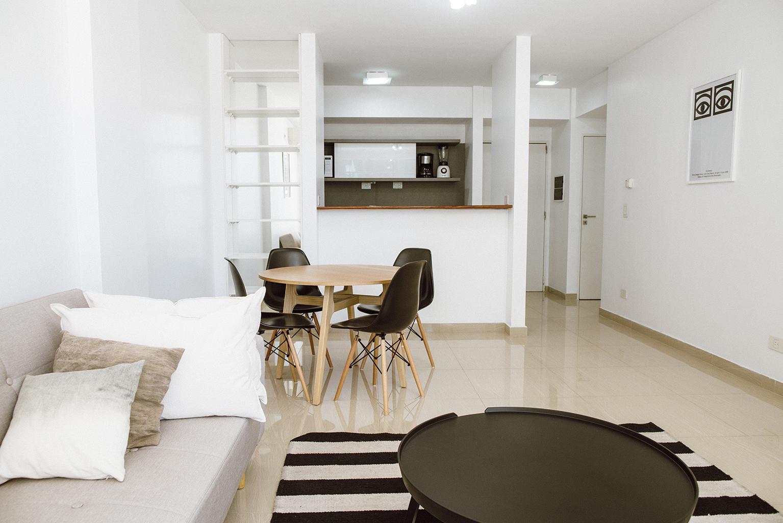 Sofa at Lumiere Apartments