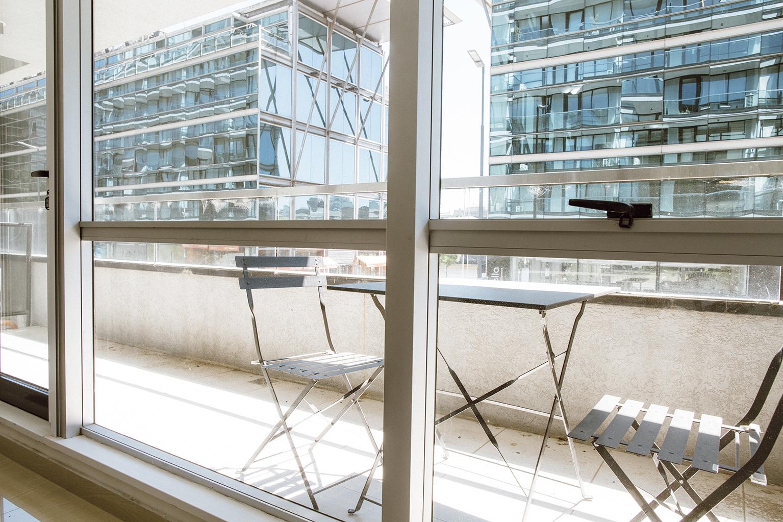 Balcony at Lumiere Apartments