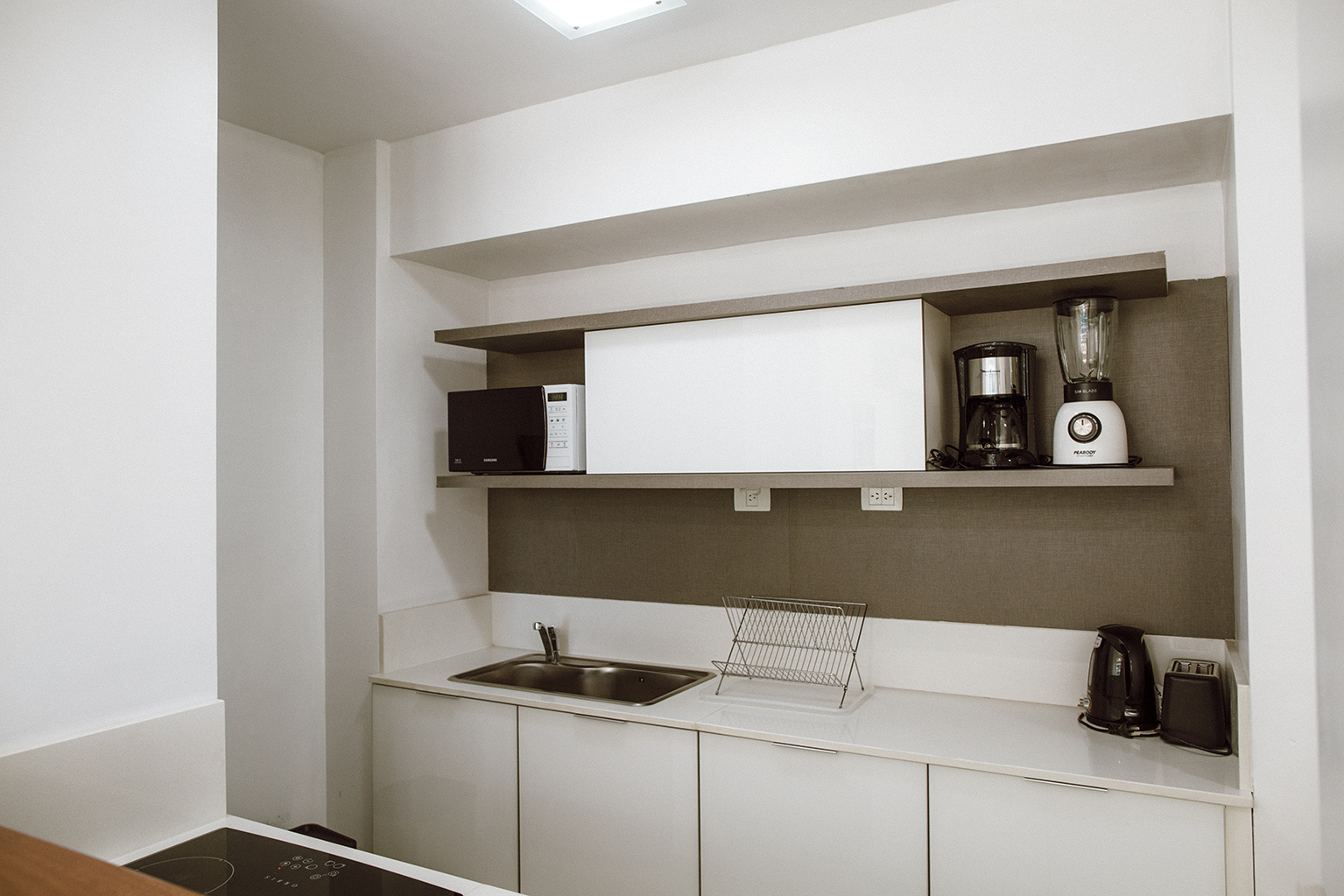 Kitchen at Lumiere Apartments