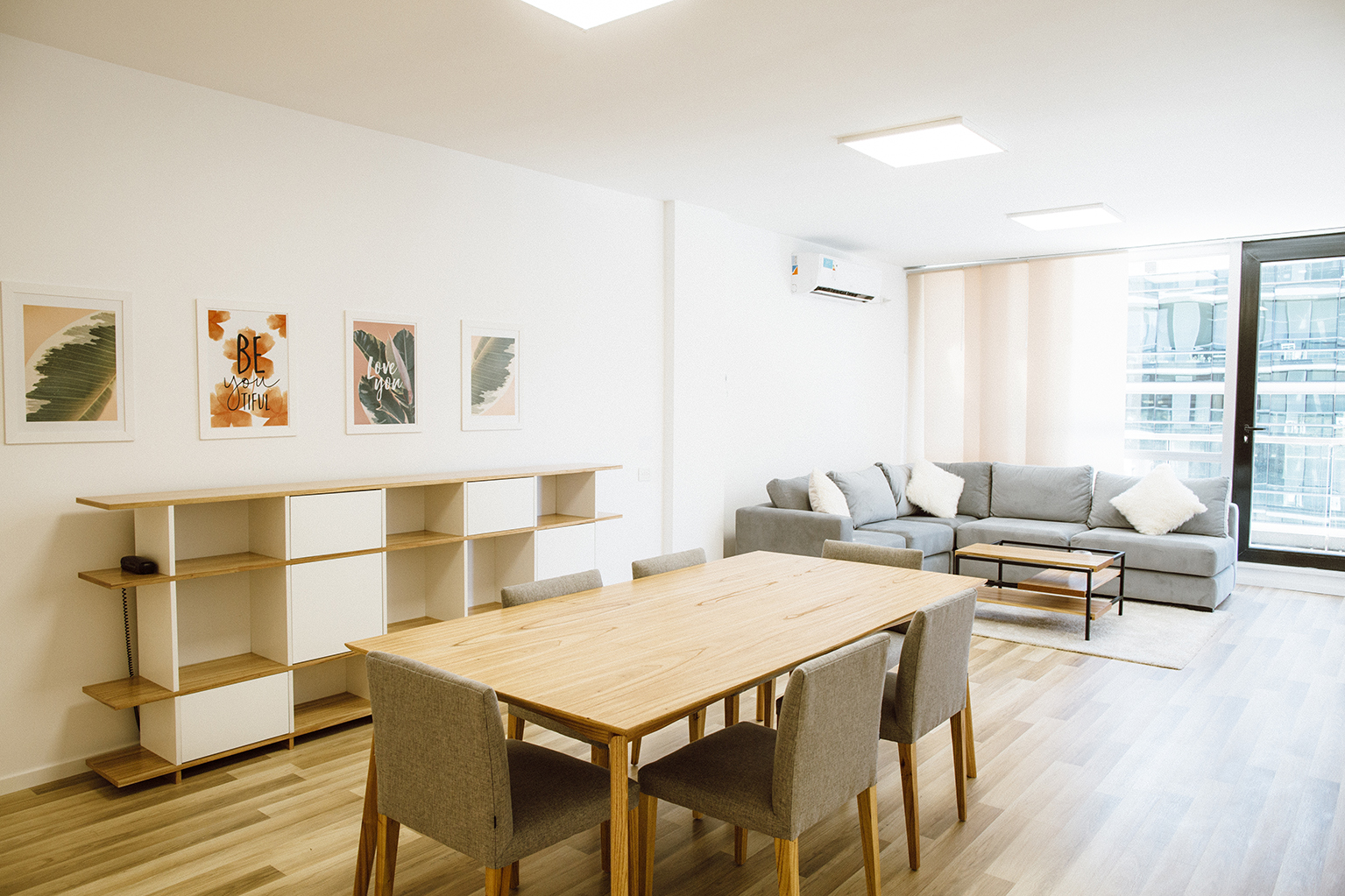 Dining table at Lumiere Apartments