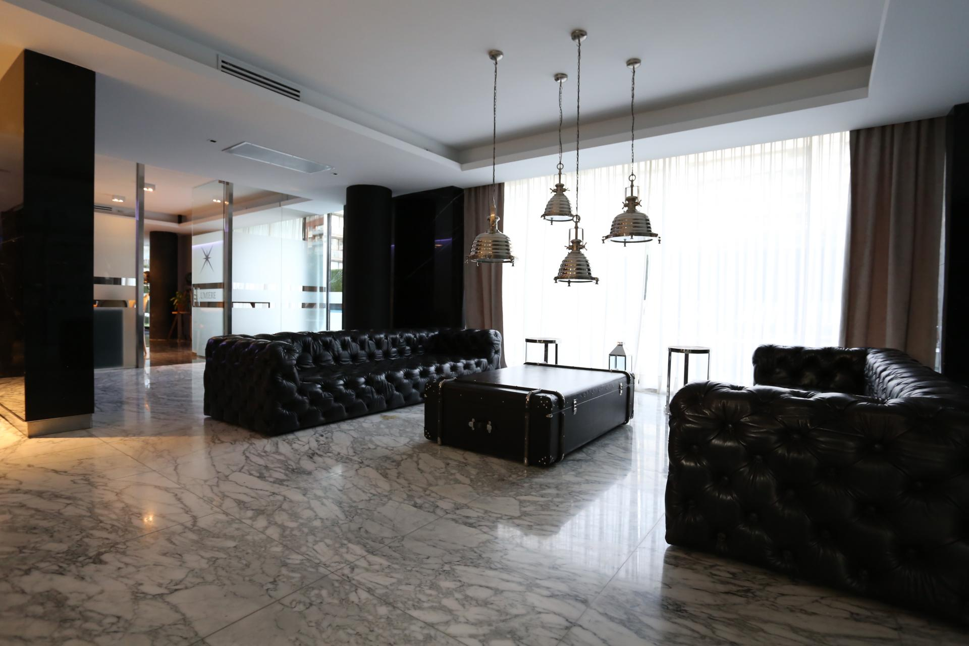 Reception at Lumiere Apartments