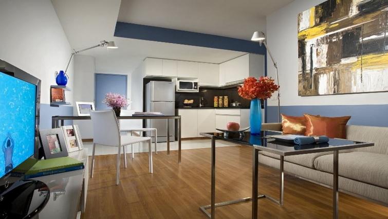 Executive living area in Citadines Sukhumvit 11 Apartments
