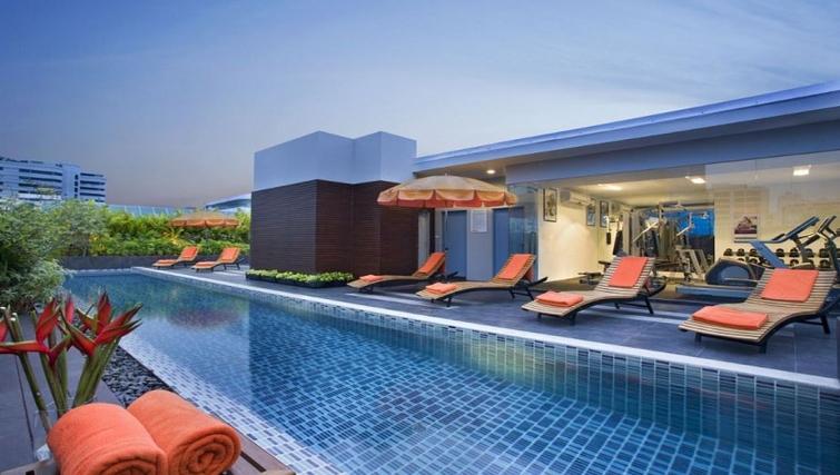 Stunning pool in Citadines Sukhumvit 11 Apartments