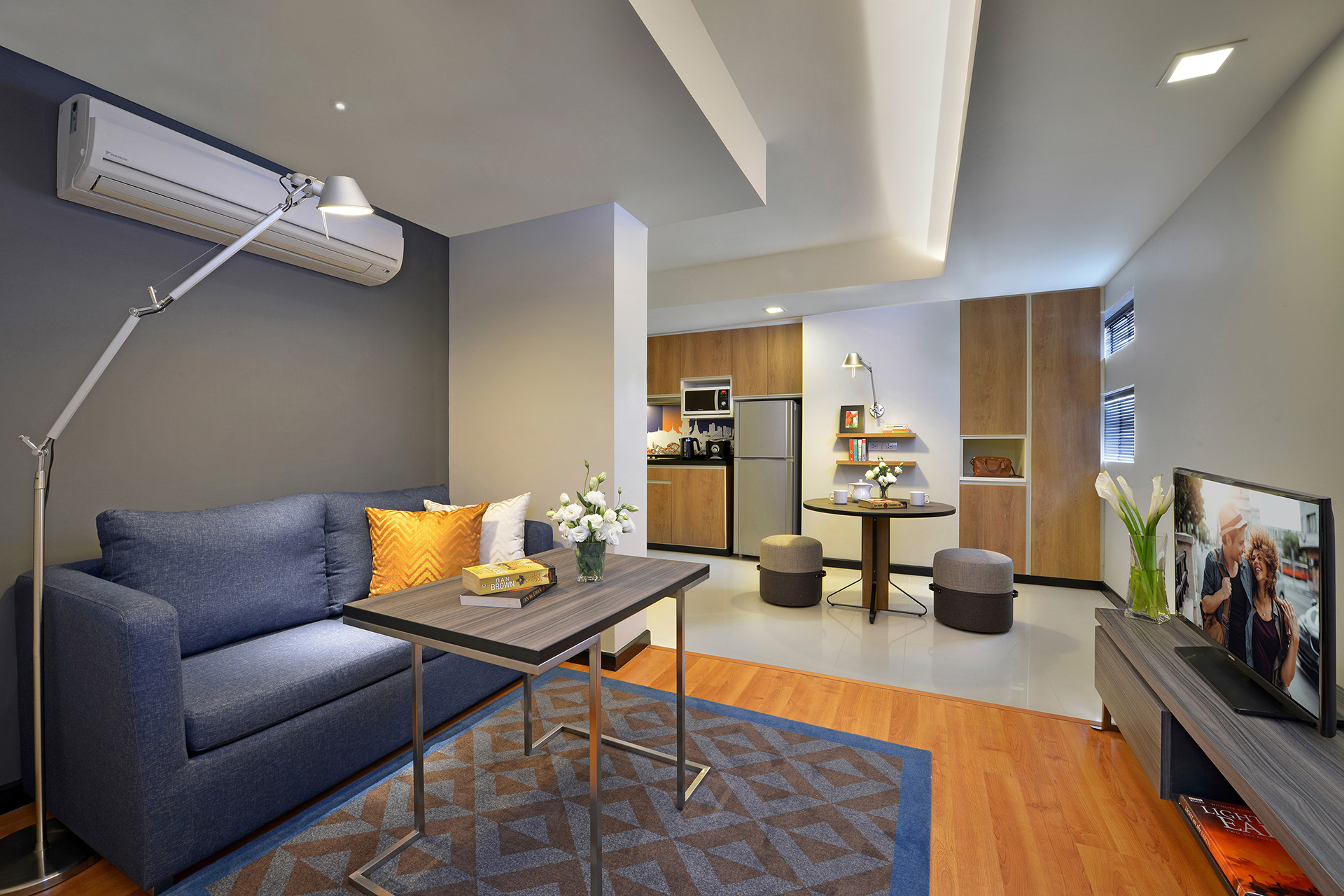 Lounge area at Citadines Sukhumvit 11 Apartments