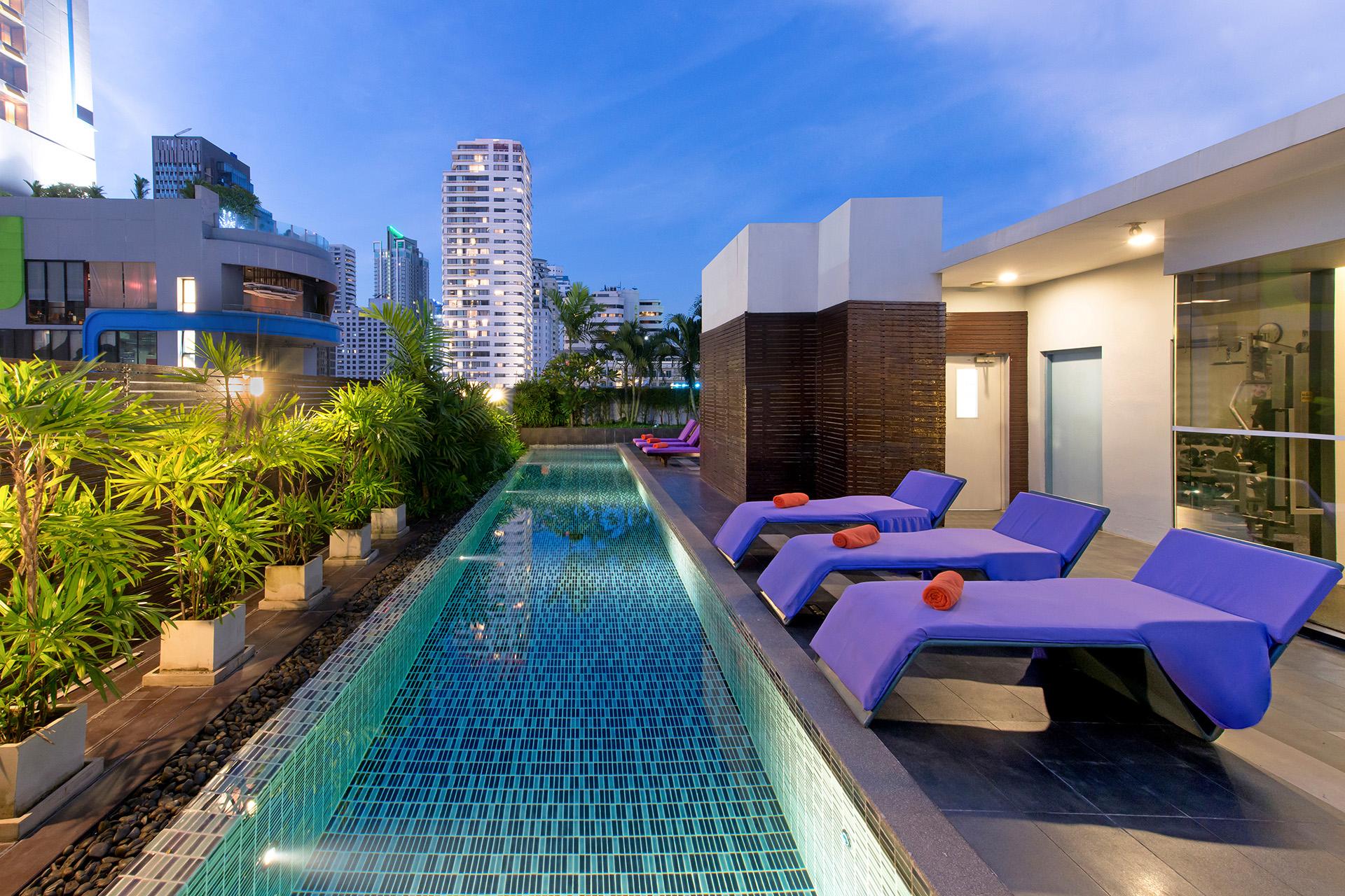 Pool at Citadines Sukhumvit 11 Apartments