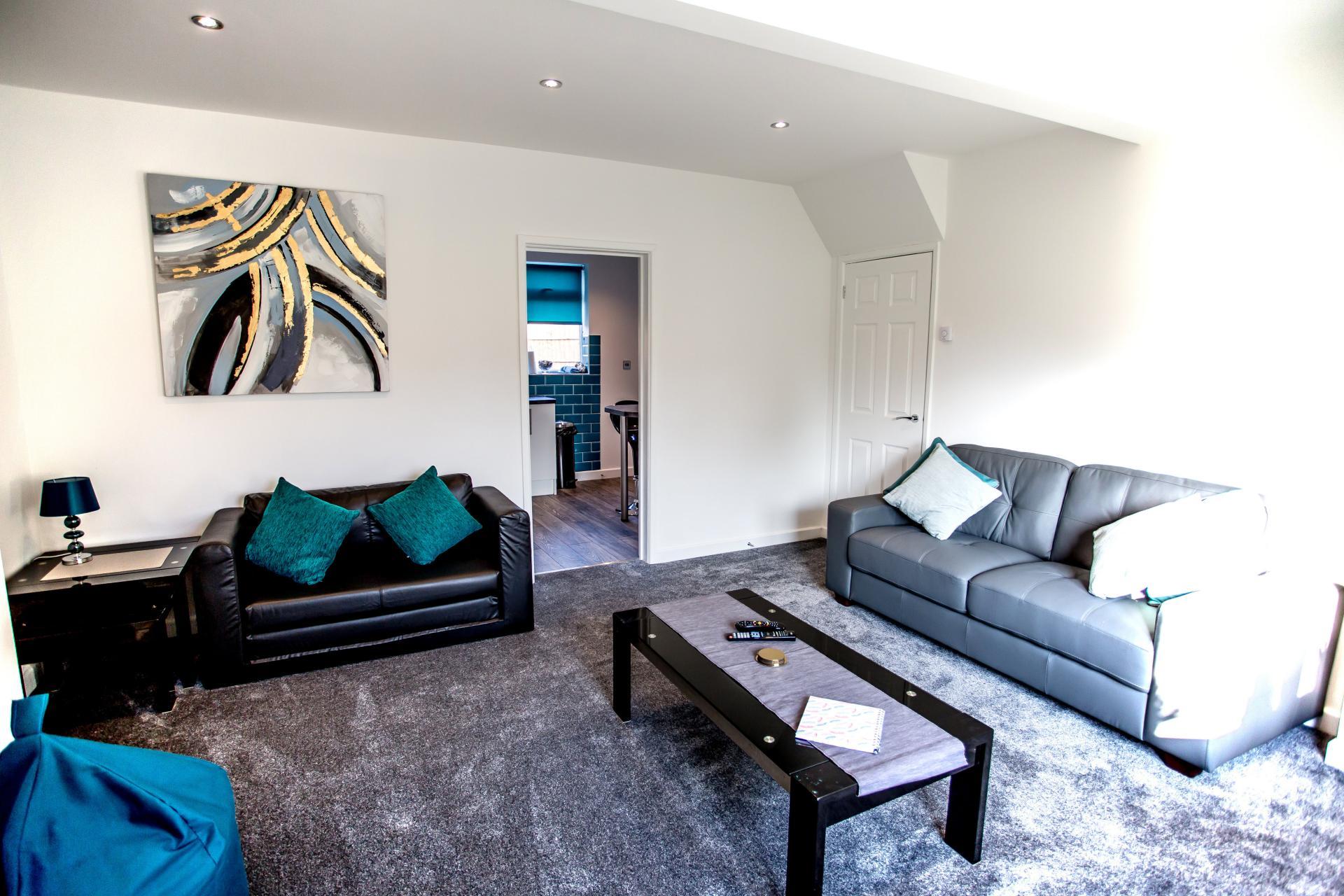 Living room at Comfort House Tamworth