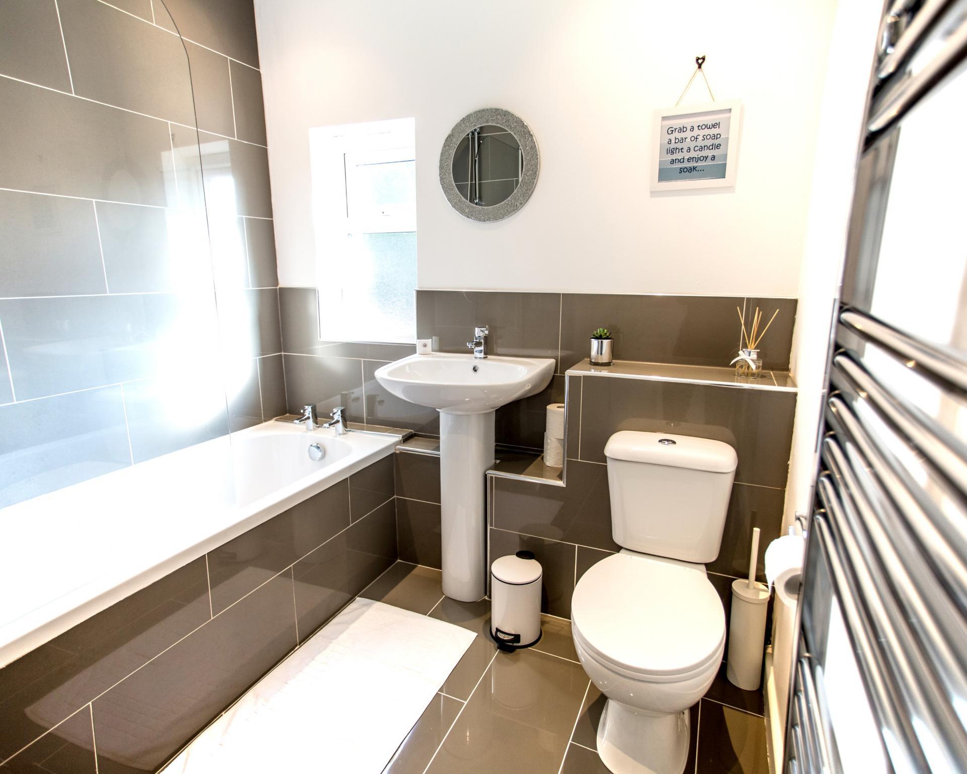 Bathroom at Comfort House Tamworth
