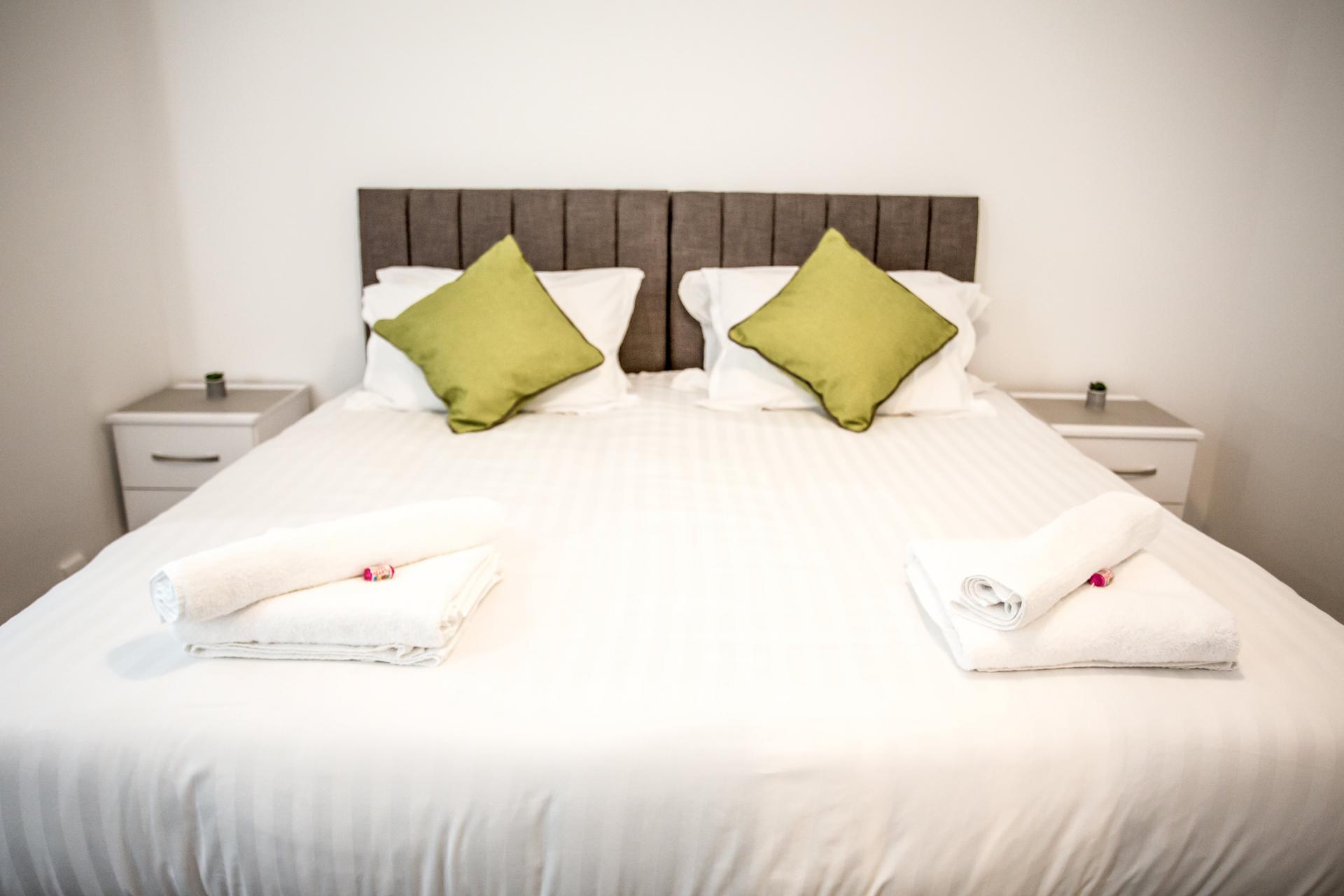 Bedroom at Comfort House Tamworth