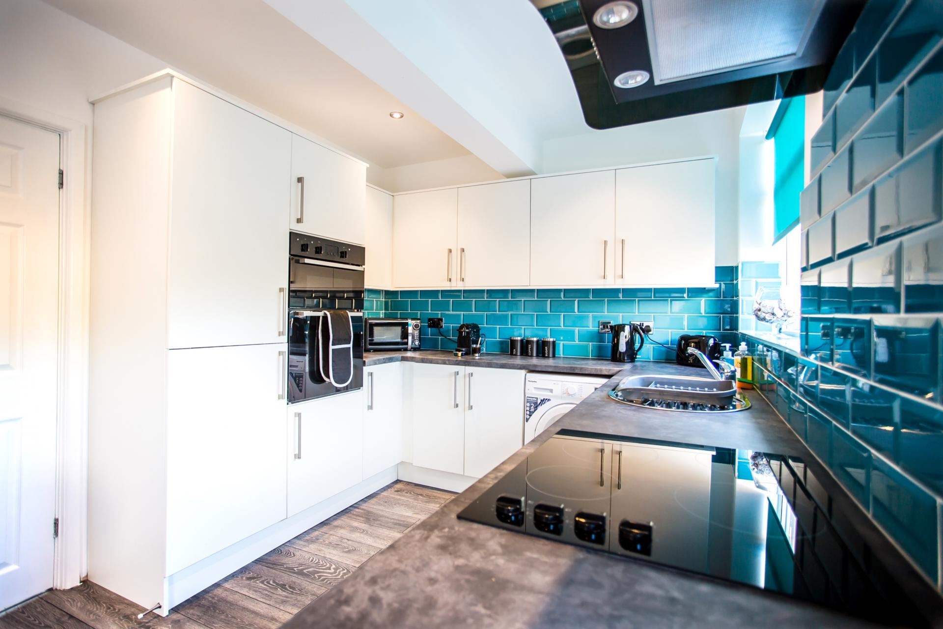 Modern kitchen at Comfort House Tamworth