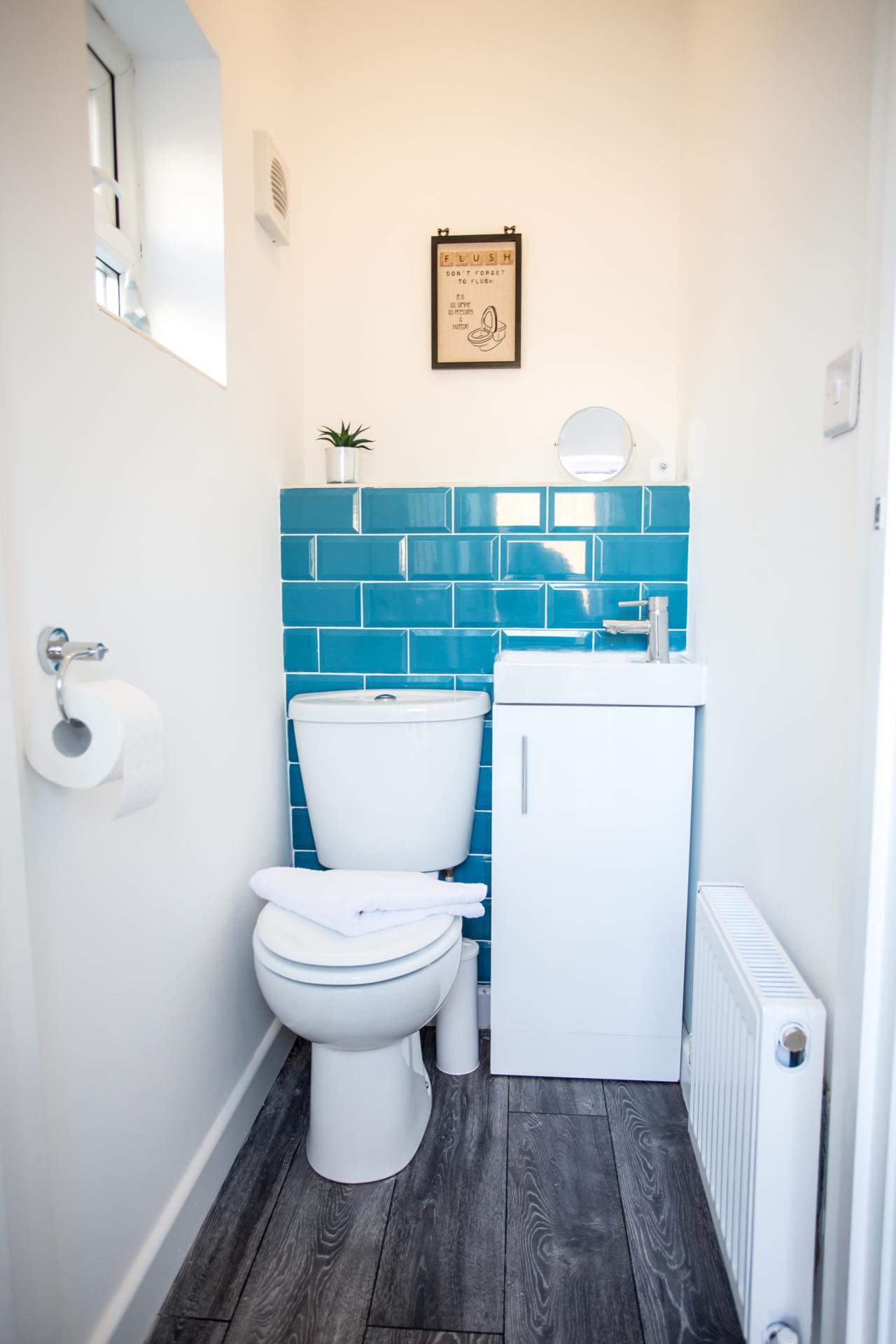 Toilet at Comfort House Tamworth