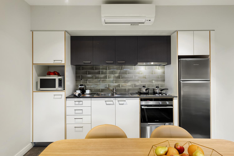 Kitchen at Quest Fremantle