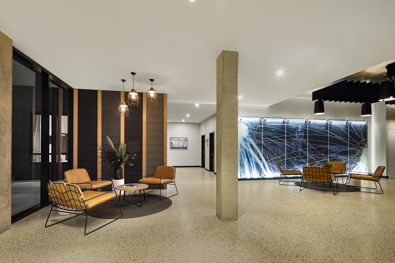Reception area at Quest Fremantle