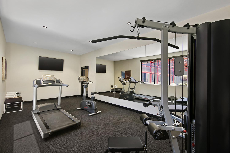 Gym at Quest Fremantle