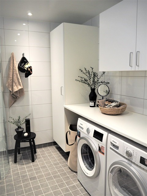 Laundry facilities at Hyllie Alle Apartments