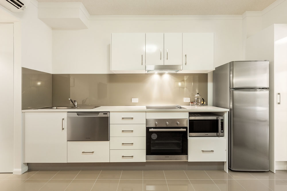 One bedroom executive kitchen at Quest On Story Bridge