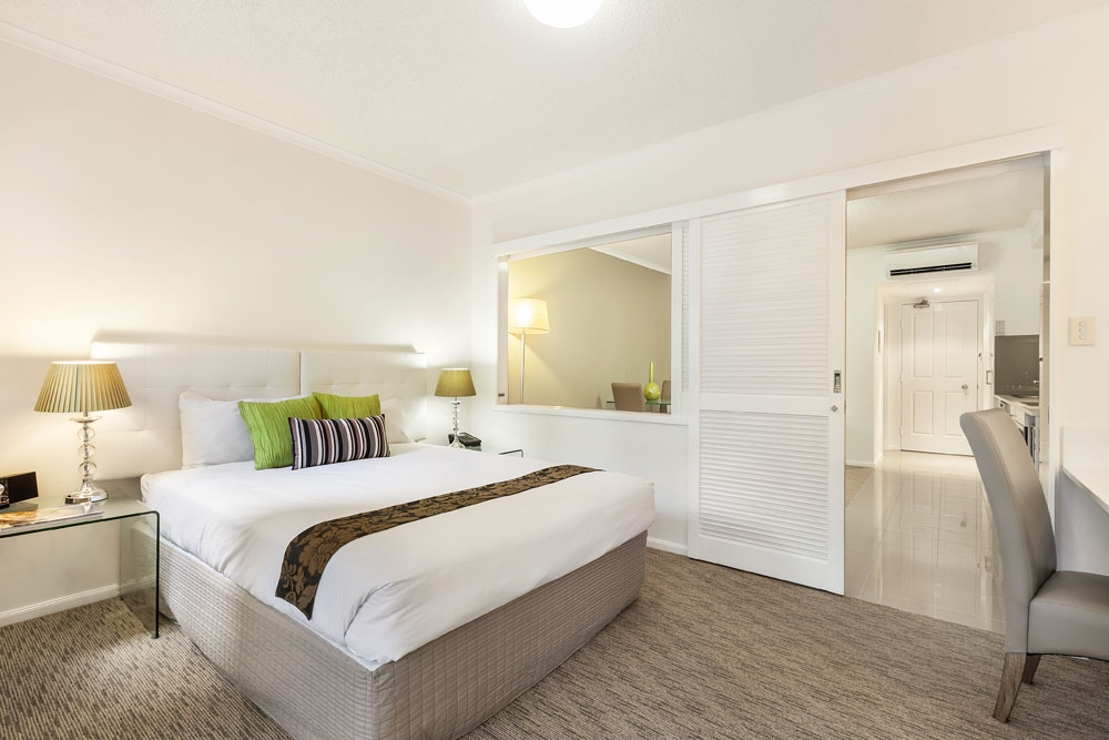 Executive one bedroom apartment at Quest On Story Bridge